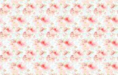 Indy Bloom Design Plush Pink Florals fabric by indybloomdesign on Spoonflower - custom fabric Scrapbook Background, Custom Wallpaper, Rose Design, Textured Walls, Floral Watercolor, Custom Fabric, Spoonflower, Indie, Plush