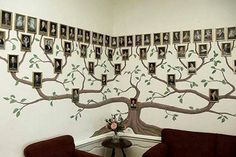 Wonderful DIY Amazing Family Tree Wall Art If you are looking for something special to decorate your home, here it is ! Genealogy or study of family lineage is a very popular hobby around the Family Tree Wall Decor, Family Tree Photo, Photo Tree, Family Trees, Family Photos, Family Room, Metal Tree Wall Art, Diy Wall Art, Wall Art Decor