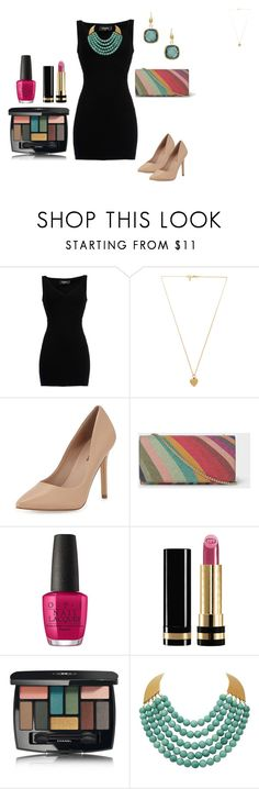 """OUTFITS  DE FIESTA"" by hellen-reyna on Polyvore featuring moda, Dsquared2, Vanessa Mooney, Neiman Marcus, Paul Smith, OPI, Gucci, Chanel y Rivka Friedman"