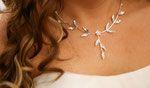 Der Halsschmuck ist ein wichtiges Accessoire am Hochzeitstag einer Braut. Es rundet das gesamte Outfit ab, soll demnach gut passend und stimmig wirken. Outfit, Silver, Jewelry, Fashion, Accessories, Groom Fashion, Marriage Anniversary, Schmuck, Outfits