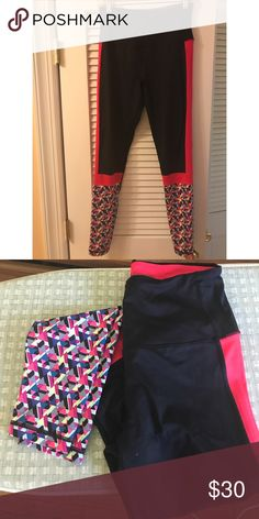 Victoria's Secret VSX Leggings Women's Victoria's Secret VSX Knockout Exercise Leggings. Size Medium. 76% Nylon, 24% Lycra. Gently Used. Everything must go! Make me an offer. Victoria's Secret Pants Leggings