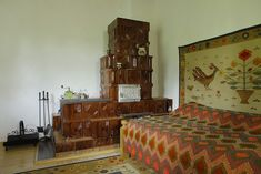 Traditional, Interior Design, Bed, Cottages, Spinning, Furniture, Backgrounds, Home Decor, Wood Ceilings