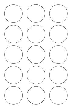 bubble letter s 1 inch circle template printable and many other sizes 1104