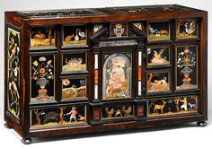ufansius:  The Barberini Cabinet,pietra dura panels - Galleria dei Lavori, Florence, circa 1615.