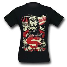 Superman Day of Doom Men's T-Shirt Geek Fashion, Too Cool For School, Superman, Pop Culture, Universe, Wonder Woman, Cool Stuff, Day, Mens Tops