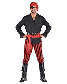 Adult Cutthroat Captain Pirate Costume
