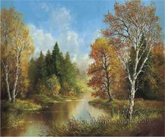 """Large Wall Art Decorating Ideas Large Wall Art Cheap Landscape Painting Ideas, Size: 36"""" x 24"""", $118. Url: http://www.oilpaintingshops.com/large-wall-art-decorating-ideas-large-wall-art-cheap-landscape-painting-ideas-2157.html"""