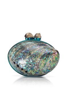 Maricel Soriano Minaudière in Rainbow Paua Shell