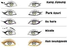 Kara Pandora make up style  #Kpop #koreanstyle #make-up