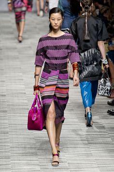 Missioni RS14, pattern, dress, purple and black