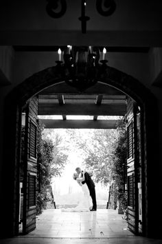 open barn doors and take from inside OOOOH YES SILHOUETTE!!!!
