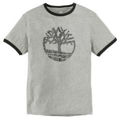 Men's Short Sleeve Tree Logo Ringer T-Shirt - Timberland