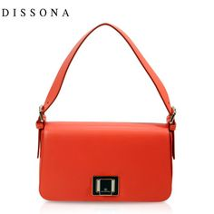 DISSONA Disang Na European and American candy-colored compact and elegant leather handbag lady shoulder packet -tmall.com Lynx Lynx, Leather Handbags, Compact, Kate Spade, Candy, Elegant, American, Shoulder, Color