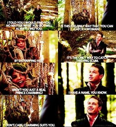 Discover and share Ouat Prince Charming Quotes. Movies Showing, Movies And Tv Shows, Prince Charming Quotes, Snow And Charming, Ella Enchanted, Between Two Worlds, Abc Shows, Ginnifer Goodwin, Captain Swan