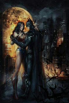 Batman y la mujer maravilla