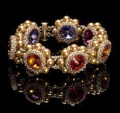 Bobbins Bracelet - Bead&Button Show Nancy Cain