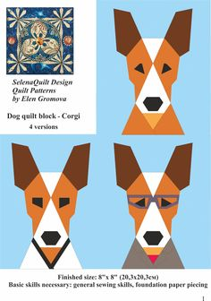 Excited to share the latest addition to my #etsy shop: Dog quilt block pattern, Basenji, Animal quilt, Modern home decor, Instant download, Paper Piecing, Beginner Quilt Pattern & Tutorial https://etsy.me/2IvMhA0 #supplies #birthday #christmas #kidscrafts #dogquiltblock #dogquilt #basenji #animalquilt #rustichomedecor