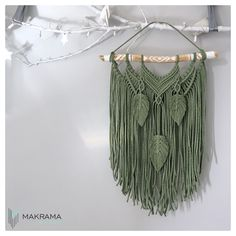 #bohemiandecor  #bohodecor #dekoracjedosalonu #dekoracjedomu #makrama #makramazyciezpasja  #macramé #macramewallhanging Dream Catcher, Crochet Top, Boho, Modern, Decor, Fashion, Moda, Dreamcatchers, Trendy Tree