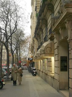 The chic suburb of Passy, Paris. Read more at www.thewanderbug.com