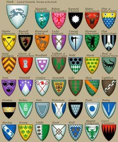Os escudos das casa de The Game of Thrones Todo jogador de RPG sabe que uma boa ambientação ajuda em muito na imersão do grupo numa...