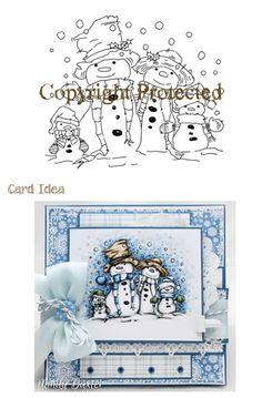 *Stamp* - Snow Family