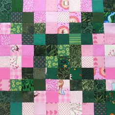 Controlled Chaos scrap quilt tutorial - block 15