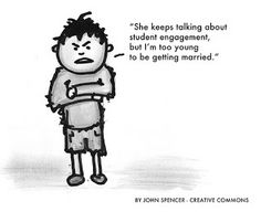 Increasing student engagement: If you've worked in education for more than 5 minutes, you've probably had a conversation about ways and strategies to increase student engagement. For the record, I applaud all efforts and all initiatives that assist our schools in becoming more engaging. I think it's also safe to say that increases in student engagement are directly related to a more relevant and more purposeful learning environment for our students.