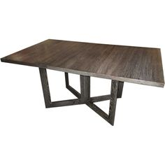 1stdibs - Architectural  Drop-Leaf  Cerused Dining Table explore items from 1,700  global dealers at 1stdibs.com