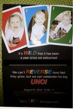 Mom Upcycles: Thrifty Uno First Birthday Party Theme