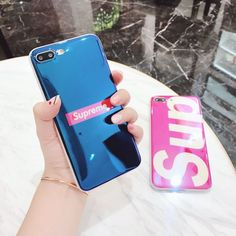 Luxury Cool Supreme Creative Classic Glossy Soft Case For Iphone X 6 6S 7 8 Plus