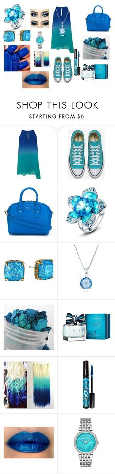 """""""Untitled #18"""" by pinksavon on Polyvore featuring Furla, Kate Spade, BERRICLE, Tommy Hilfiger, Rimmel and Michael Kors"""
