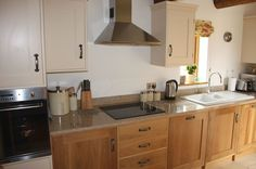 Kitchen In The Granary Luxury Holidays, Kitchen Cabinets, Home Decor, Decoration Home, Room Decor, Cabinets, Home Interior Design, Dressers, Home Decoration