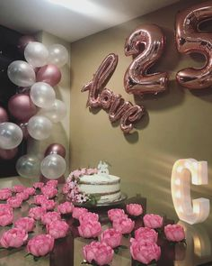 18 Ideas Birthday Party Ideas Gifts For 2019 16th Birthday Decorations, 25th Birthday Cakes, 25th Birthday Parties, 20th Birthday, Birthday Dinners, Birthday Diy, 25th Birthday Ideas For Her, Birthday Goals, Birthday Gifts For Sister