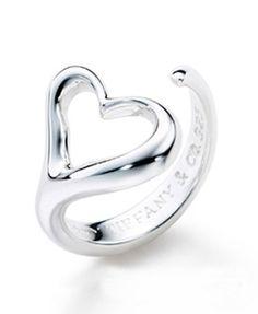 Tiffany & Co Elsa Peretti Open Heart Ring - $69.79 : Tiffany Outlet Online