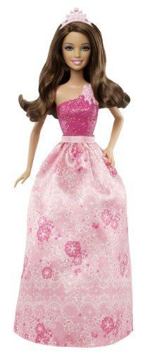 Barbie Fairytale Princess Fashion Doll Brunette parallel import goods *** Check out the image by visiting the link.