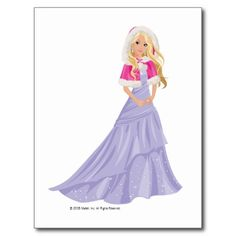 Barbie with Fir Trimmed Cloak Postcards Princess Art, Barbie Princess, Barbie And Her Sisters, Barbie Drawing, Barbie Hairstyle, Barbie Cartoon, Walt Disney, Barbie Images, Fairytale Fantasies