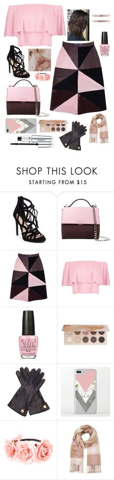 """""""The Munroe"""" by gabrielle1000love ❤ liked on Polyvore featuring Jessica Simpson, Givenchy, Florence Bridge, Boohoo, OPI, ZOEVA, Cornelia James, Miss Selfridge and Clinique"""