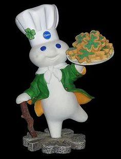Pillsbury Doughboy Figures | Pillsbury Doughboy Danbury Mint China International Mug