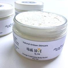ORANGE CREAMSICLE LOTION | Vegan Body Butter | Organic Lotion | Orange Vanilla Body Butter | Gifts For Her | Organic Body Butter | Vegan by madewithlovebykm on Etsy https://www.etsy.com/listing/453763308/orange-creamsicle-lotion-vegan-body