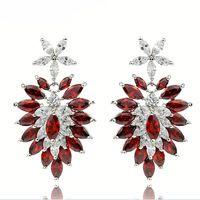 fashion earring  earring zircon earring classical earring colorful earring