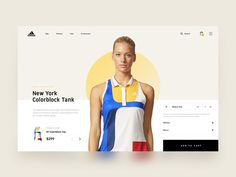 Hey everyone!   So, we're still working hard on our new projects at Netguru and we can't wait to share the results with you. In the meantime, I present you a small concept of Adidas online store I...