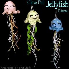 American Felt and Craft shares hundreds of DIY free felt tutorials, tips and projects all in easy to understand full color photos. Felt Diy, Felt Crafts, Colorful Fish, Tropical Fish, Felt Templates, Felt Christmas Ornaments, Felting Tutorials, Animal Projects, Felt Animals