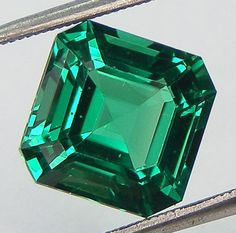 Excellent Cut Nanocrystal Emerald Asscher Cut 9 x 9 mm Loose Nanocrystal Emerald Simulated Gem Lab Created Loose Gemstone by Artwithmom on Etsy https://www.etsy.com/listing/457260788/excellent-cut-nanocrystal-emerald