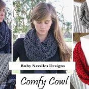 Infinity Comfy Cowl  - via @Craftsy