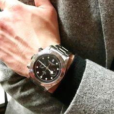 "Gefällt 242 Mal, 8 Kommentare - Monochrome Watches (@monochromewatch) auf Instagram: ""Tudor Black Bay Chronograph #tudorbaselworld2017 #tudorwatch #blackbaychronograph"""