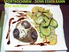 """""""Liebe geht durch den Magen"""" oder wenn das Essen sexy macht!: """"Zwiebelkalbshaxe anApfelgurkensalat!""""""""Zwiebelkal..."""