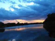 Stormy Sunset by SylviaJones.deviantart.com