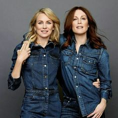 Julianne Moore and Naomi Watts