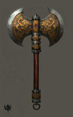 ... Double Headed Axe ...