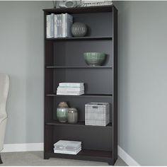 """Red Barrel Studio Hillsdale 66"""" Standard Bookcase Finish:"""